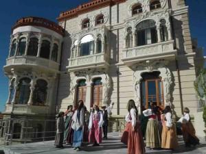 Palacete Modernista, en el recorrido de las Visitas Teatralizadas