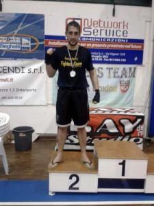 Rafael Mansilla, 2º en Italia