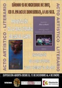 Acto Artístico y Literario