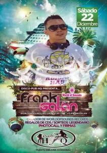 "Frank Galán en directo en Pub ""HQ"""