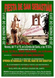Cartel de la Fiesta de San Sebastián