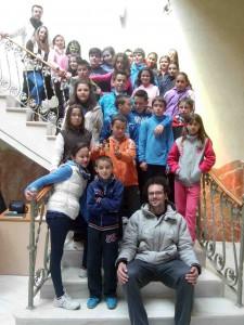 Visita cultural de los alumnos de 5º y 6º