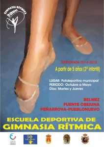 Escuelas Deportivas de Gimnasia Rítmica en la comarca