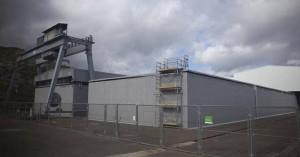Instalaciones del centro de almacenamiento de residuos de media y baja actividad de El Cabril. - Foto:JUAN ALGAR
