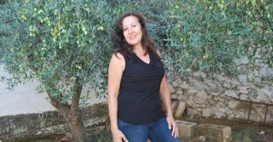 Carmen Agredano, en La Coronada. - Foto:EVA M. HERAS
