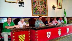 Representantes políticos de Alanís, Hornachuelos, Las Navas de la Concepción y Fuente Obejuna. - Foto:EVA M. HERAS