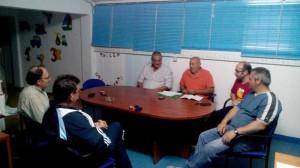 Francisco Romero, se reúne con ADEME