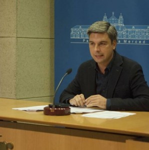 Andrés Lorite, durante la rueda de prensa de ayer. - Foto:CORDOBA