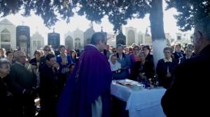 Celebración de la festividad de todos los Santos