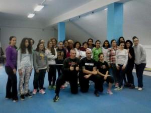 Seminario de `Kraw Maga` para mujeres