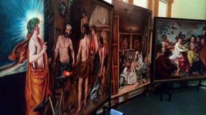 Copias de pinturas del Museo del Prado