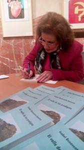 Isabel Benavente presenta su novela