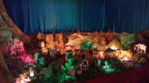 Los mellarienses recorren las Posaditas en vísperas de Navidad