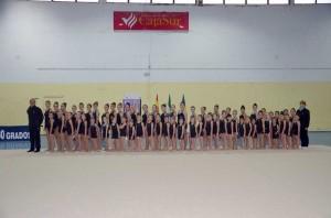 Escuelas comarcales de Gimnasia Rítmica