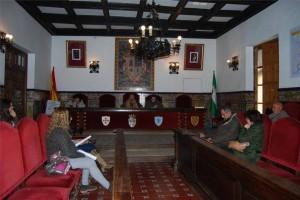 Un momento de la sesión celebrada en Fuente Obejuna. - Foto:EVA M. HERAS
