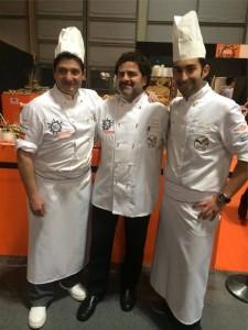 José Roldán, con sus compañeros de equipo en el campeonato celebrado en Italia. - CÓRDOBA