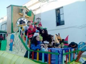 Los Reyes Magos de Oriente recorren las calles de Fuente Obejuna