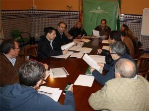 Reunión mantenida por el delegado con los alcaldes afectados. - Foto:CORDOBA