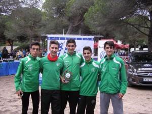 El Melariense Carlos Sanz 3º de Andalucía por Clubes