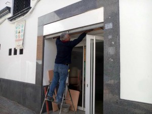 Obras de reforma en el teatro municipal