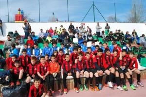 Jugadores participantes en el torneo de Fuente Obejuna. - EVA MARÍA HERAS