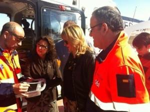 Salud pone en marcha un nuevo helipuerto para los helicópteros del 061 -