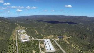 Vista aérea de las instalaciones de El Cabril, en Hornachuelos. - Foto:EFE