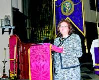 Pilar Paños, pregonera de Fuente Obejuna. - Foto:E.M. HERAS