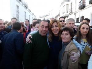 Susana Díaz elige Fuente Obejuna para su primera visita al Guadiato