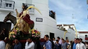 Soleado Domingo de Ramos en Fuente Obejuna