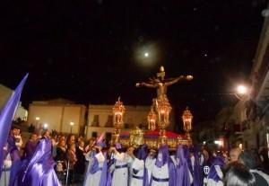El Cristo de la Misericordia recorrió las calles de Fuente Obejuna
