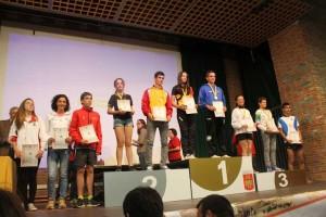 El melariense Juan Sanz Alejandre 3º de España