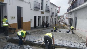 Reparación de calles y acerados