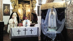 Eucaristía en honor a Ntra. Sra. de Fátima
