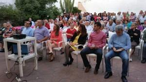 Es el momento del cambio en el acto de cierre de campaña del PSOE