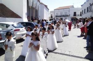 Celebración de las Primeras Comuniones en Fuente Obejuna