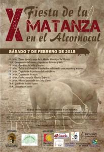 X edición de la Matanza del Cerdo en el Alcornocal