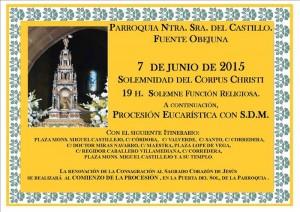 Celebración del Corpus Christi en Fuente Obejuna
