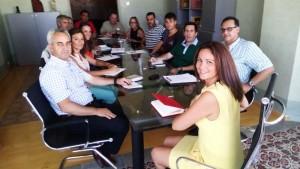 Reunión de socialistas del Guadiato