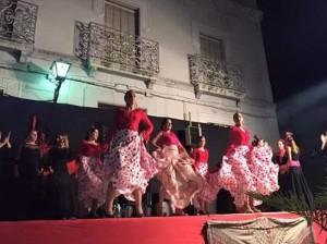 Baile flamenco a cargo de la Escuela de Cristina de Felipe