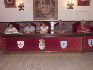 Sesión plenaria de la renuncia de la concejal socialista