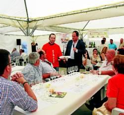 El chef Braulio García, en la demostración gastronómica - Foto:EVA M. HERAS