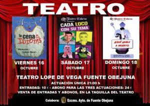 Disfruta del teatro en Fuente Obejuna