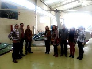 Visita a algunas empresas de Fuente Obejuna