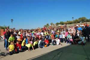"""El AMPA """"San Carlos Borromeo"""" celebra el día de la Bici"""