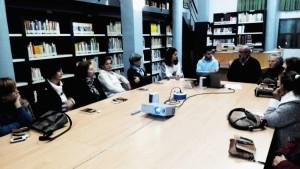 Visita al Club de Lectura de la Biblioteca Municipal