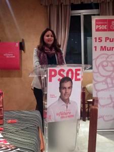 Acto de campaña del PSOE en Fuente Obejuna