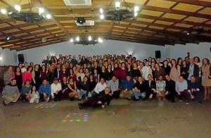 Profesores y alumnos participantes en la actividad. - Foto:EVA M. HERAS