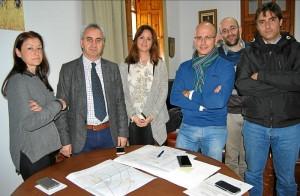 La alcaldesa, Silvia Mellado, y el diputado Maximiano Izquierdo. - Foto:EVA M. HERAS