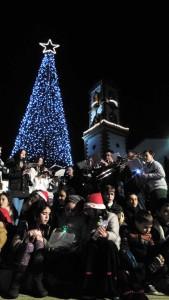 Noche navideña en Fuente Obejuna